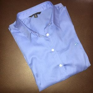 Brooks Brothers Blue Button Down Shirt NWT